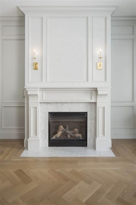 Fireplace Surround Marble by White Gold Project Snapshots Wander
