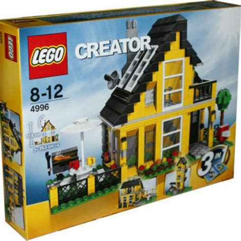 Lego Creator Beach House 4996 Collector Collection Toys Lego House 4996