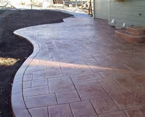 sted concrete deck patio for all your concrete