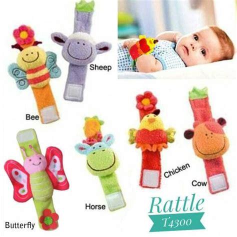 Gelang Rattle By Rachliel Babyshop gelang rattle baby mainan boneka kricik tangan anak bayi