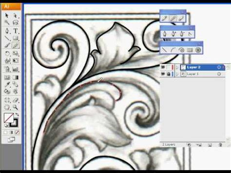 tutorial engraving illustrator illustrator youtube
