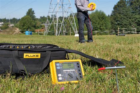 Jual Earth Ground Tester Fluke 1623 2 Kit fluke 1623 2 geo 接地测试仪套件 fluke