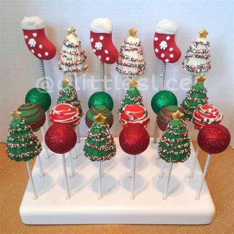 574 best christmas cake pops balls images on pinterest