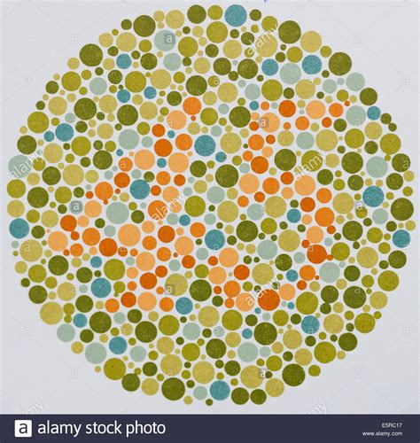 color vision ishihara test stock photos ishihara test stock images
