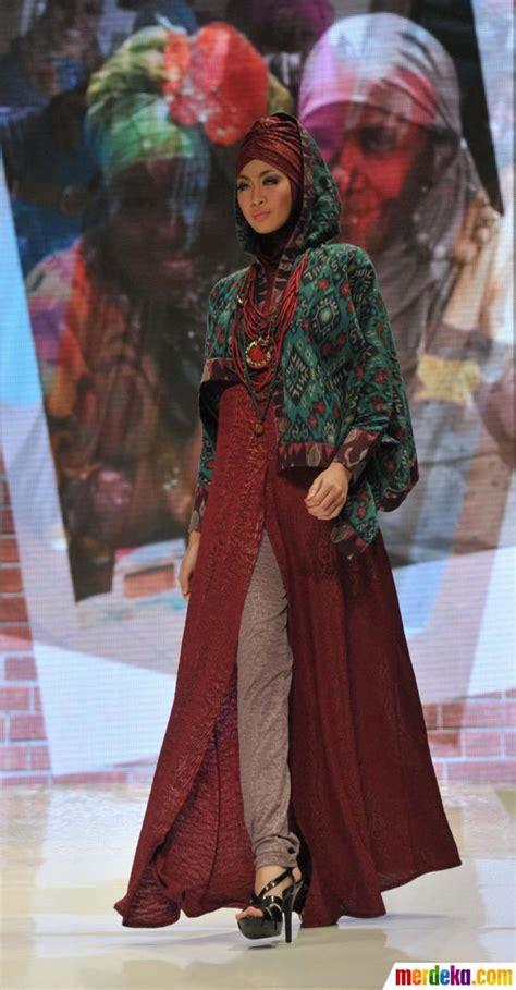 Fashion Busana Muslim foto fashion show busana muslim merdeka