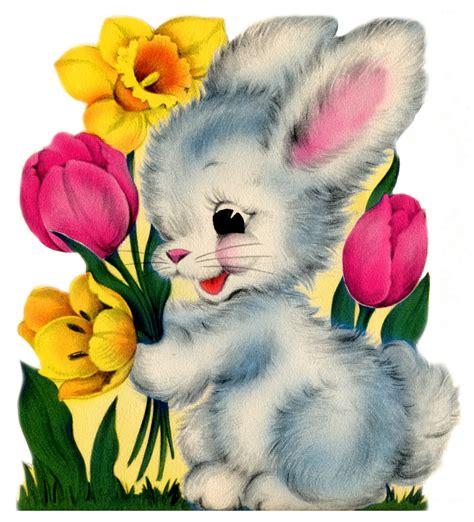 Bettdecke Vintage by Easter Bunny Easter Vintage