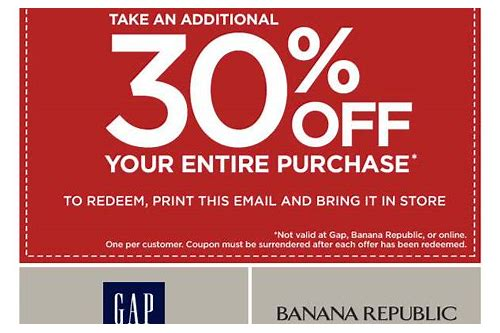 gap factory store coupons 2018
