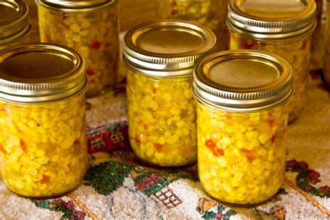 can my eat canned corn corn relish well on the road
