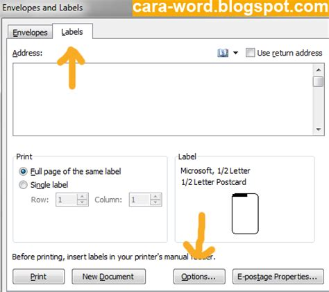 cara membuat label undangan pada ms word 2010 cara membuat label undangan di ms word cara word