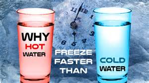 question quiz why water freeze faster than cold