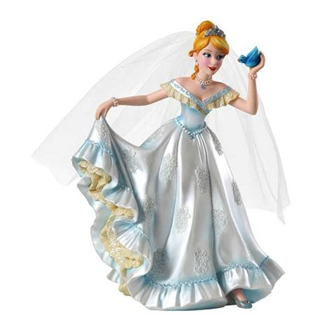 Disney Showcase Cinderella Bridal Couture Resin Statue   Enesco   Cinderella   Statues at
