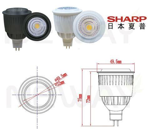 Cob Spotlight Spot Light Halogen Lu Sorot Fitting E27 9w mr16 sharp cob spotlight 12v 9 watt sharp cob mr16 led spotlight bulbs low voltage mr16 sharp