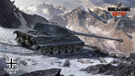 wot ii world of tanks tank tiger ii wallpapers and images