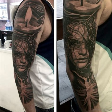 portrait sleeve tattoo designs 60 sleeve for