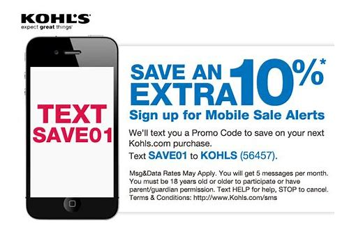 will kohls scan coupon my phone