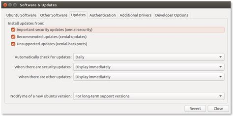 ubuntu manually check for updates package management and system update in ubuntu desktop