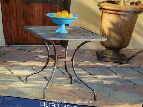 Kirkland Bistro Table Set Kirklands Bistro Table Kirkland Bistro Table Set With Wine Storage 3 Groupon Kirkland Bistro