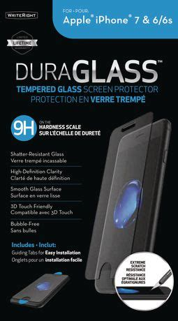 fellowes iphone 6 6s 7 plus duraglass screen protector walmart canada