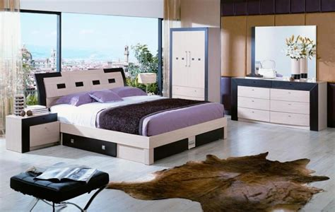2014 modern bedroom furniture colour idea with view