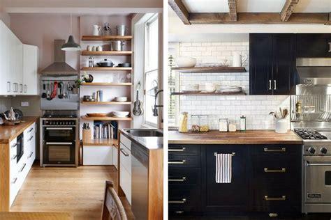 estantes para cocinas modernas 7 ideas para decorar cocinas modernas y peque 241 as ellas