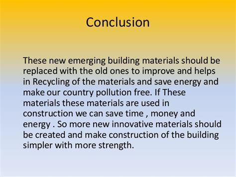innovative building materials innovative building materials