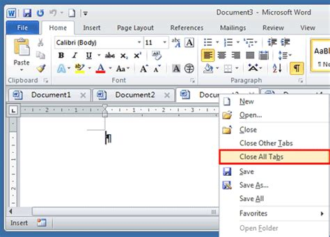 Open Word How To All Open Document Windows In Word
