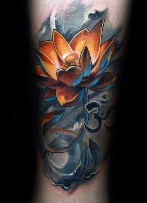 100 lotus flower tattoo designs for men cool ink ideas