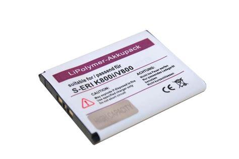 Baterai Sony Ericsson W205 W300i W302 W395 W595 Jadul Li Ion Batt li polymer akku f 220 r sony ericsson w205 ebay