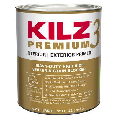 masterchem industries kilz premium qt  odor water