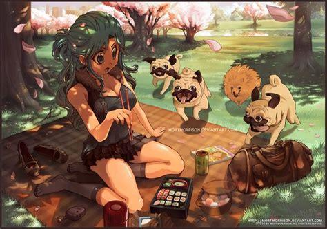 anime pug pug anime pugs pugs