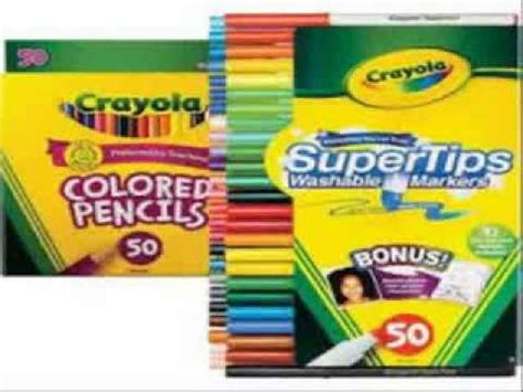 crayola 50ct colored pencils crayola 50ct colored pencils
