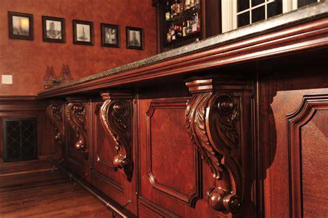 mahogany bar top mahogany bar mekkelek custom woodwork cabinetry