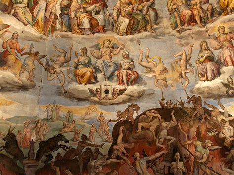 cupola di santa fiore descrizione file santa fiore cupola fresco detail jpg