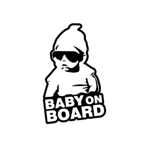 Stiker Cutting Baby On Board car decals stickers jdm baby on board car accessories on carousell