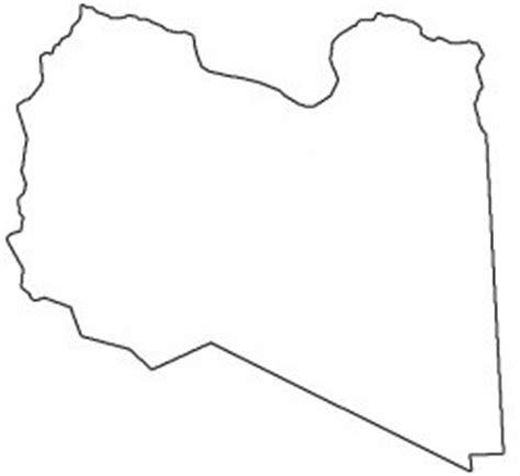 Libya Map Outline by List Of Countries From E To L أجهزة الملاحة العربية