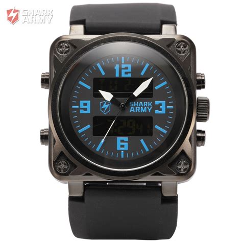 shark army digital led display sport luminous sport