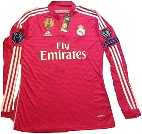 Jersey Grade Ori Real Madrid Away Uefa Cup 2017 2018 real madrid pink jersey cristiano ronaldo sleeve fifa chions league medium adidas http