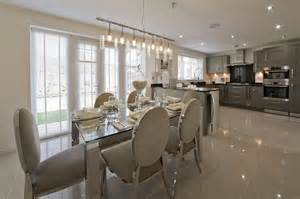 Show Home Interiors Ideas by Grey Silver Kitchen Wimpey Show Home Kitchen