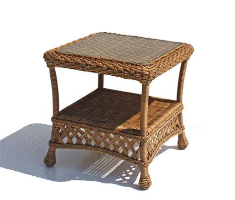 outdoor wicker end tables outdoor wicker end table montauk wicker paradise