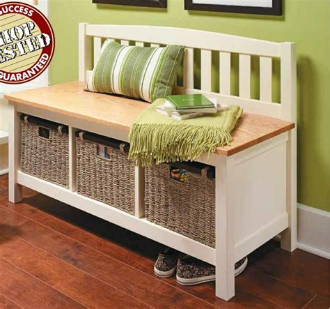 mud bench with storage 58 best woodsmith plans images on pinterest woodworking
