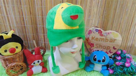 topi bayi baby hat karakter kodok keroppi lucu baju bayi