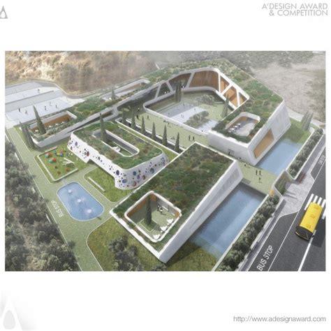 design contest launched for czech primary school compass school in crete bioclimatic european school