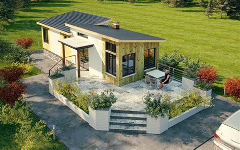 cottage prefabbricati wonderful backyard cottage prefab cottage house plan