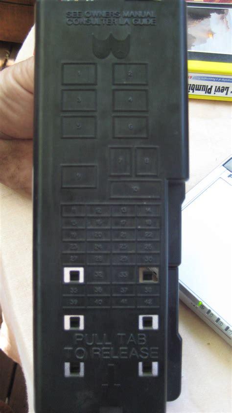 fuse    ford taurus  control  power