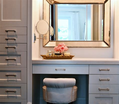 Vanity Cosmetics Miami by Coral Gables Renovation Transitional Closet Miami