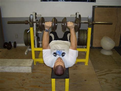 bench press neck pain dumbbell press to neck exercise