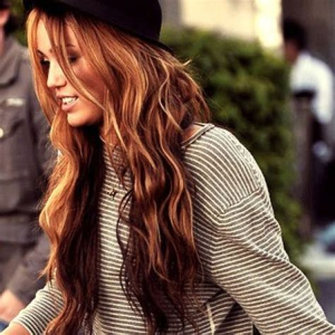 beautiful hair color fall hair color pay no attention that it is miley lol