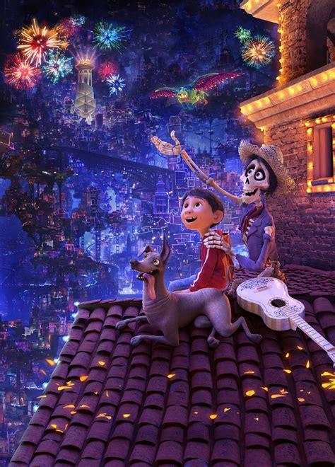 coco art wallpaper coco miguel dante hector pixar animation