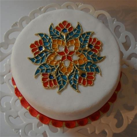 top stained glass cakes cakecentral