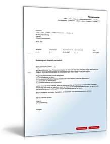 Musterbriefe Vorlage Einladung Vertrauliches Gespr 228 Ch Vorlage Zum